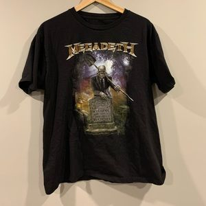 Megadeath Heavy Metal Double Sided Band T-Shirt
